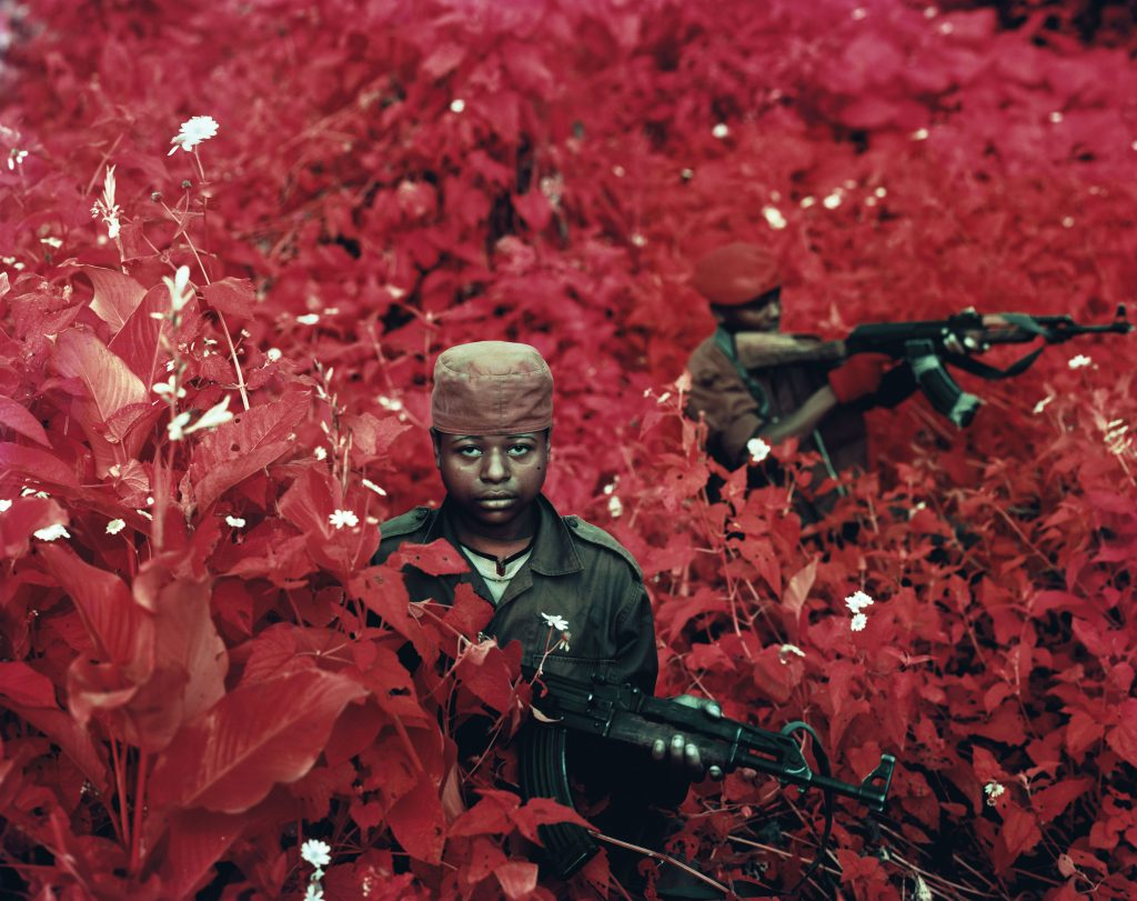 - Vintage violence, 2011 © Richard Mosse / Courtesy of the artist and Jack Shainman Gallery, New York