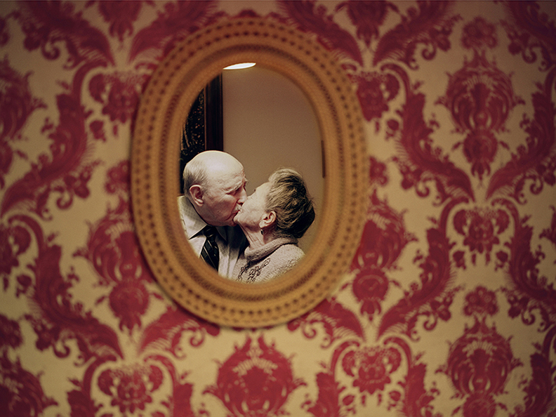 Yevgeniy and Lyubov Kissin. Brooklyn, New York . Married on June 29, 1941. Foto Lauren Fleishman