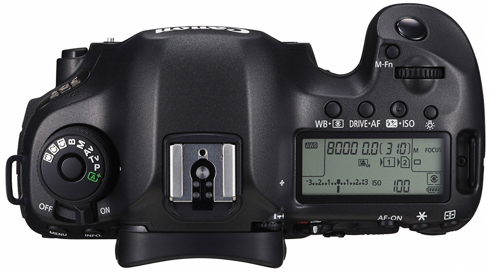 EOS 5DS BODY TOP