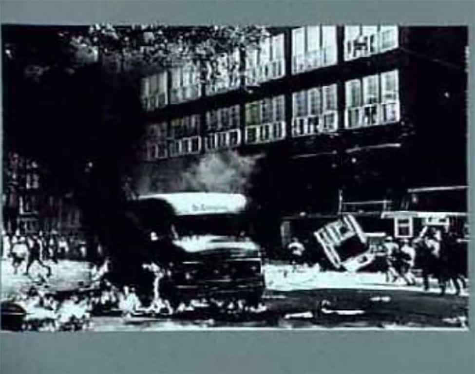 """""""Dezelfde foto van Kors van Bennekom, zoals deze werd weergegeven op de website van IISG,"""" aldus Joris van Bennekom."""