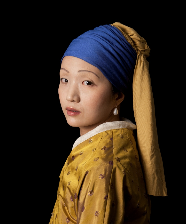 Ode to Vermeer's Meisje met de Parel