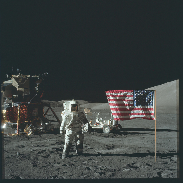 Foto Apollo Astronauten, NASA