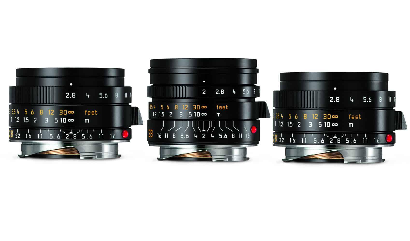 Leica M objectieven