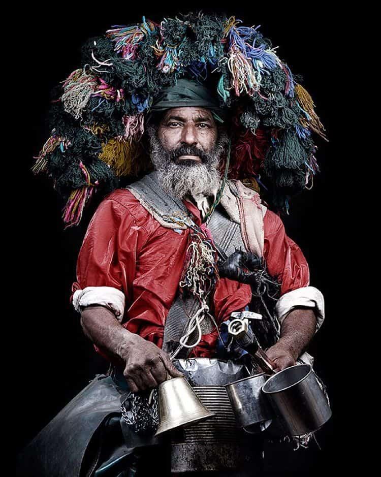 Foto uit serie 'De Marokkanen' - Leila Alaoui