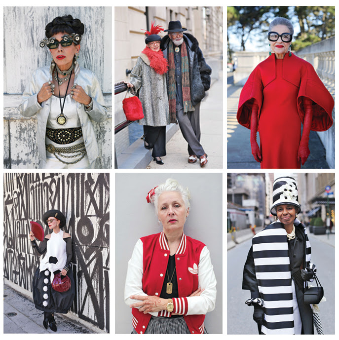 Foto's Ari Seth Cohen - verschijnen in Advanced Style: Older and Wiser