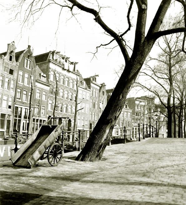 Raamgracht hoek Groenburgwal 1936
