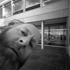 Hasselblad fotografeert Jan Versnel, 1966