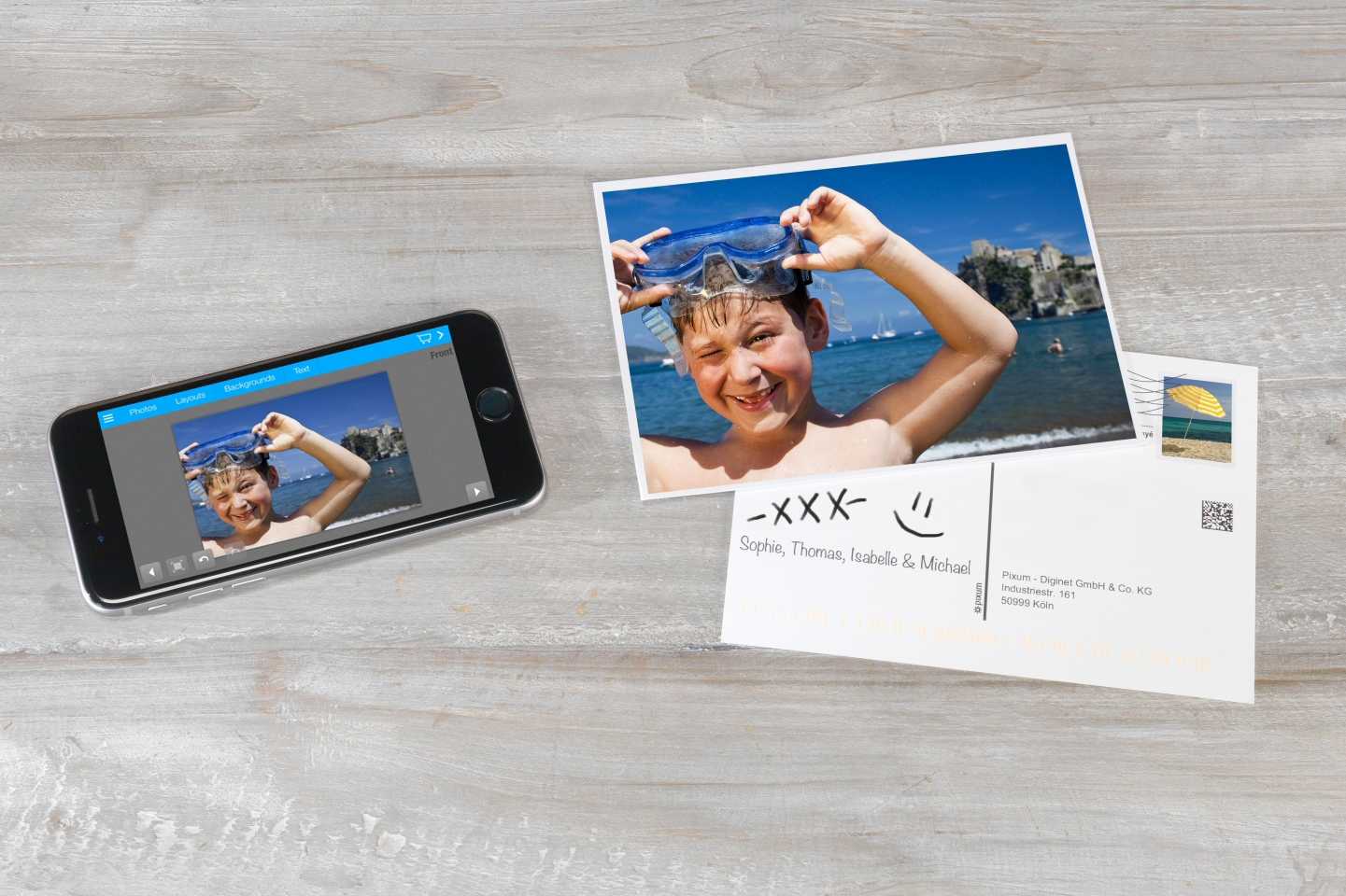 Pixum_Postcard_App