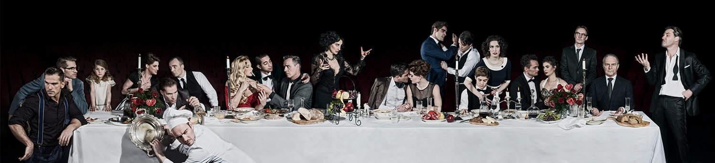 The Italian Dinner - Helen Arenz, Bram Smulders en Laura de Mildt