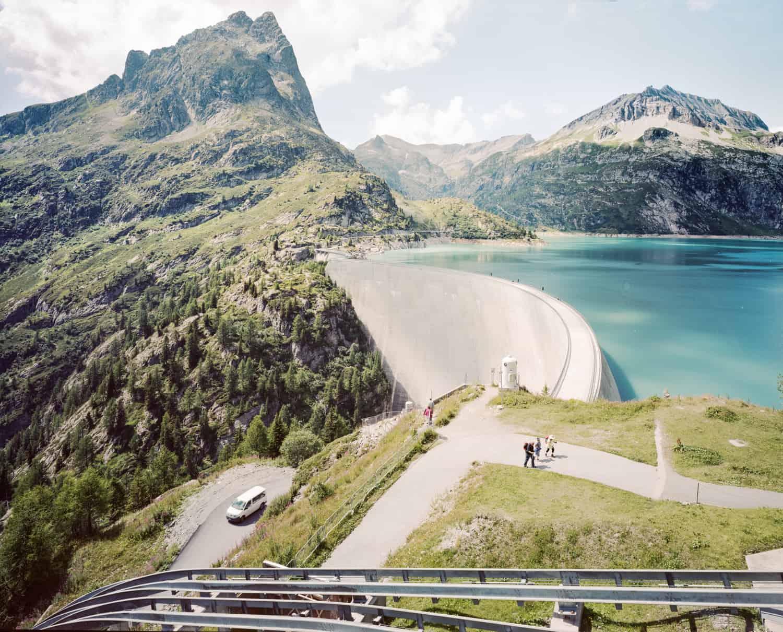 Lac d'Émosson, Zwitserland. Foto Claudius Schulze