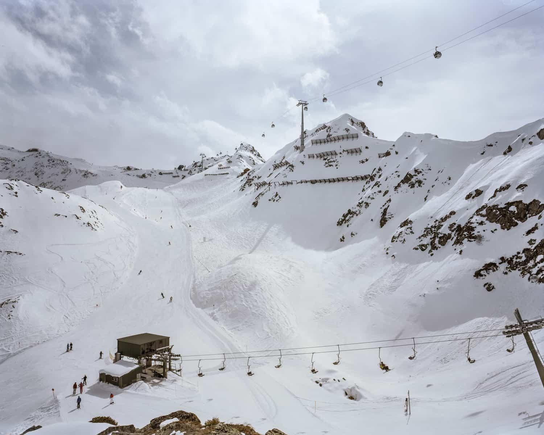 Sneeuwhutten moeten bescherming bieden tegen lawines -St. Anton / Montafon. Foto Claudius Schulze