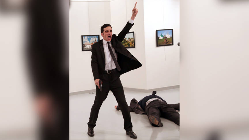 World Press Photo: Burhan Ozbilici